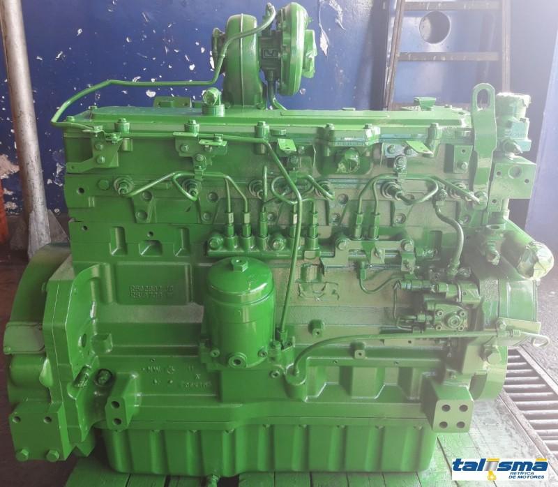 Motor John Deere 6090 - Colhedora de Cana 3520