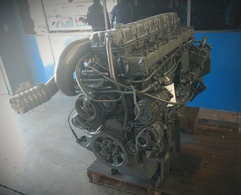 Motor Scania 124